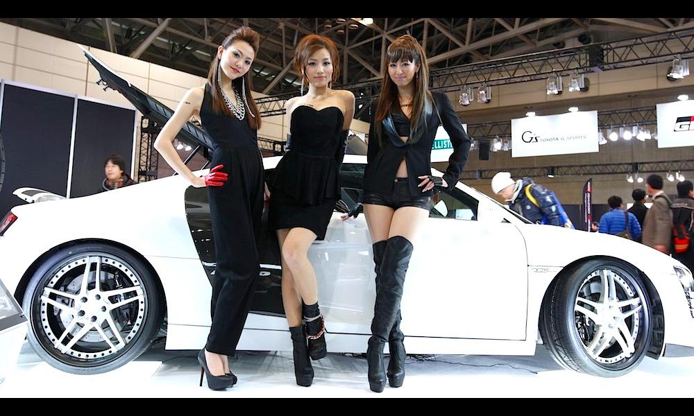Токийский дрифт – лучшие show girls