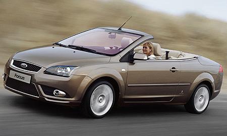 Новая вариация Ford Focus - теперь Coupe-Cabriolet