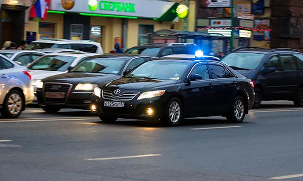 В Москве станет больше автомобилей с мигалками