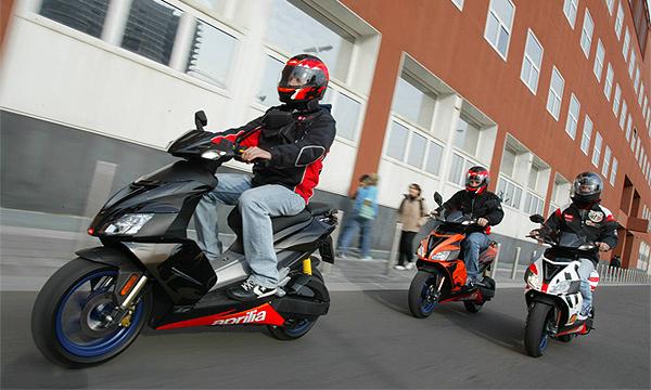 Подросткам разрешат управлять скутером с 14 лет
