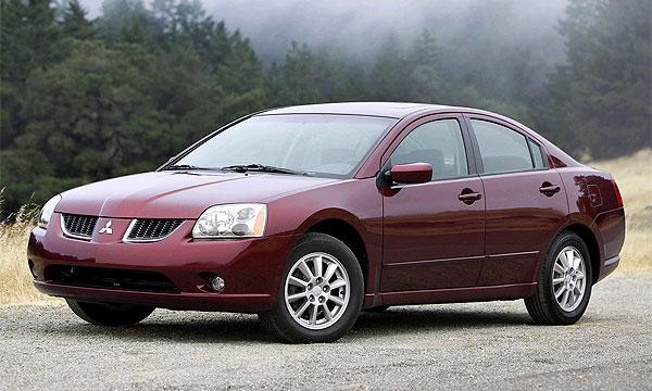 Редкий американец решается на покупку Mitsubishi Galant