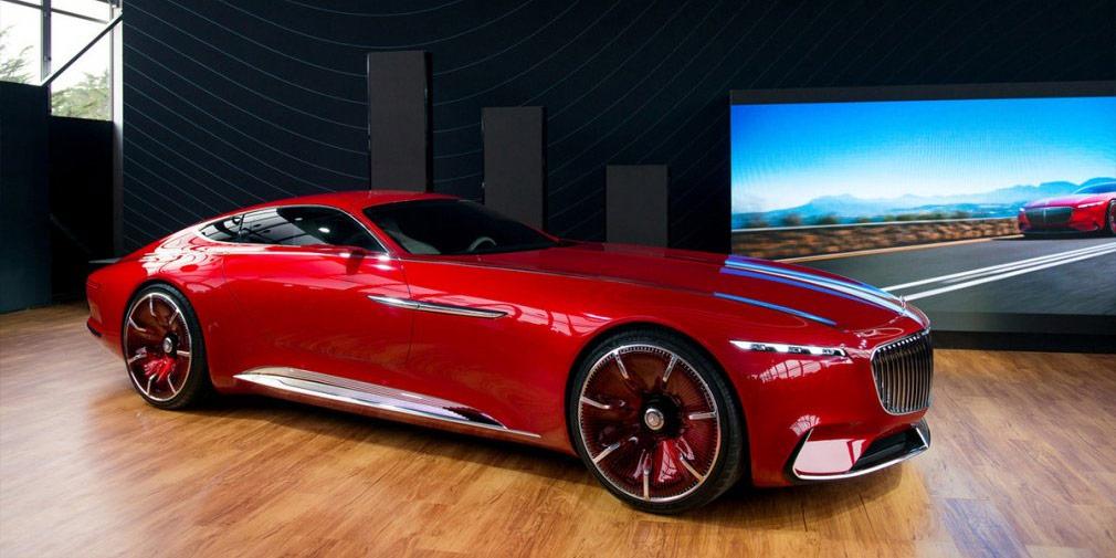 Mercedes-Maybach представил самое длинное купе в мире