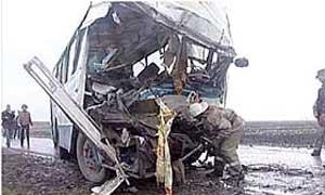 В Рязани в результате столкновения МАЗа с автобусом пострадали 29 человек
