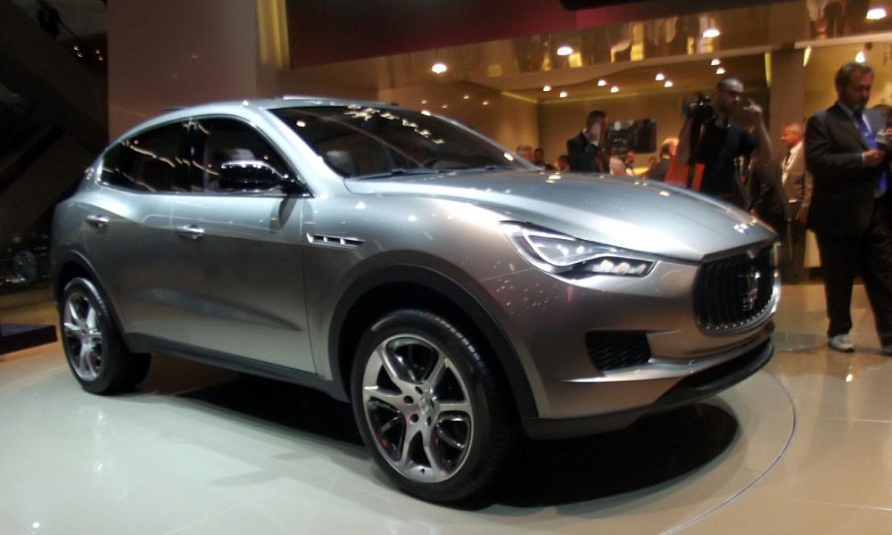 Maserati представила роскошный внедорожник