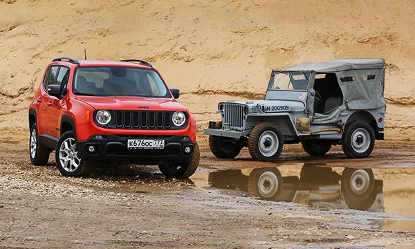 Сержант Америка. Тест-драйв Jeep Renegade и Willys MB