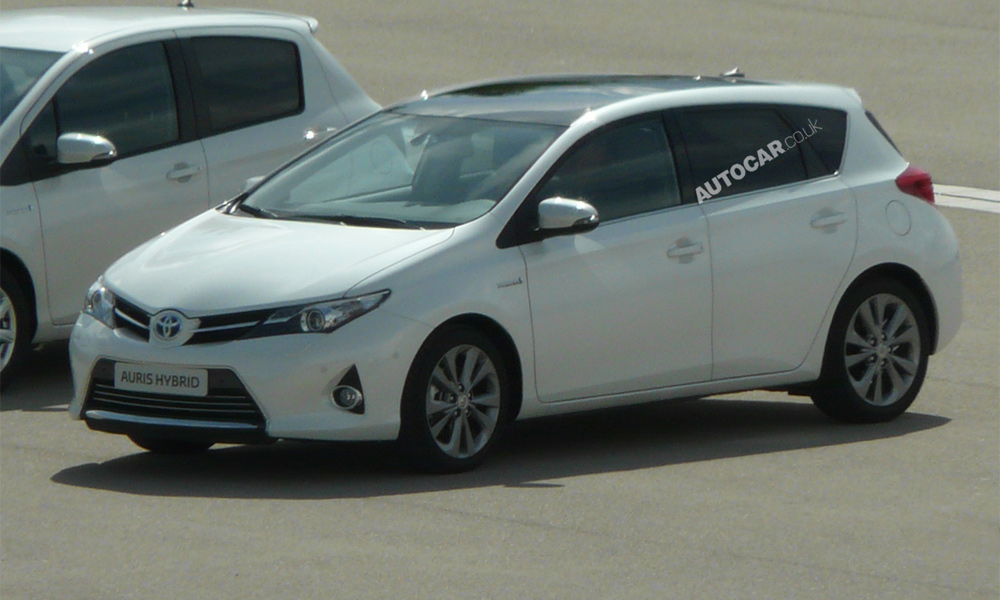 Новая Toyota Auris существенно вырастет в габаритах