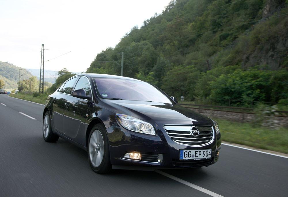 Тест обновленной Opel Insignia