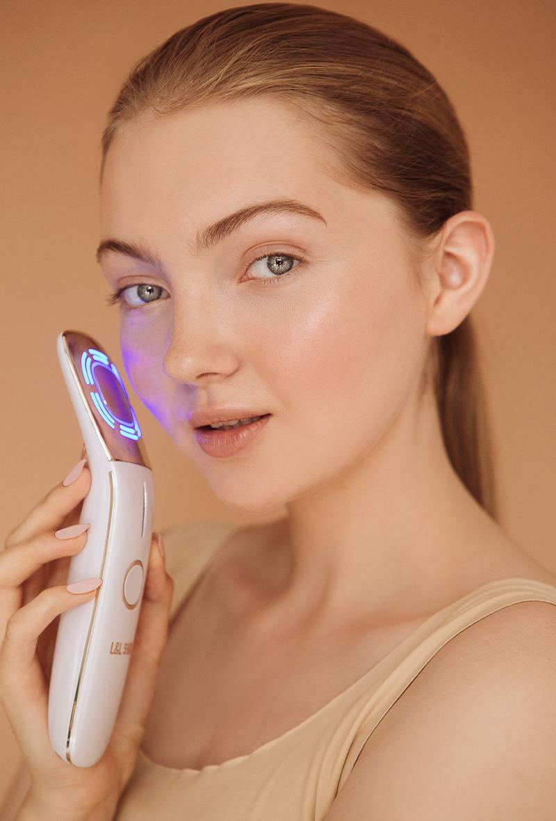 Массажер для фототерапии кожи лица Yoko, L&L Skin