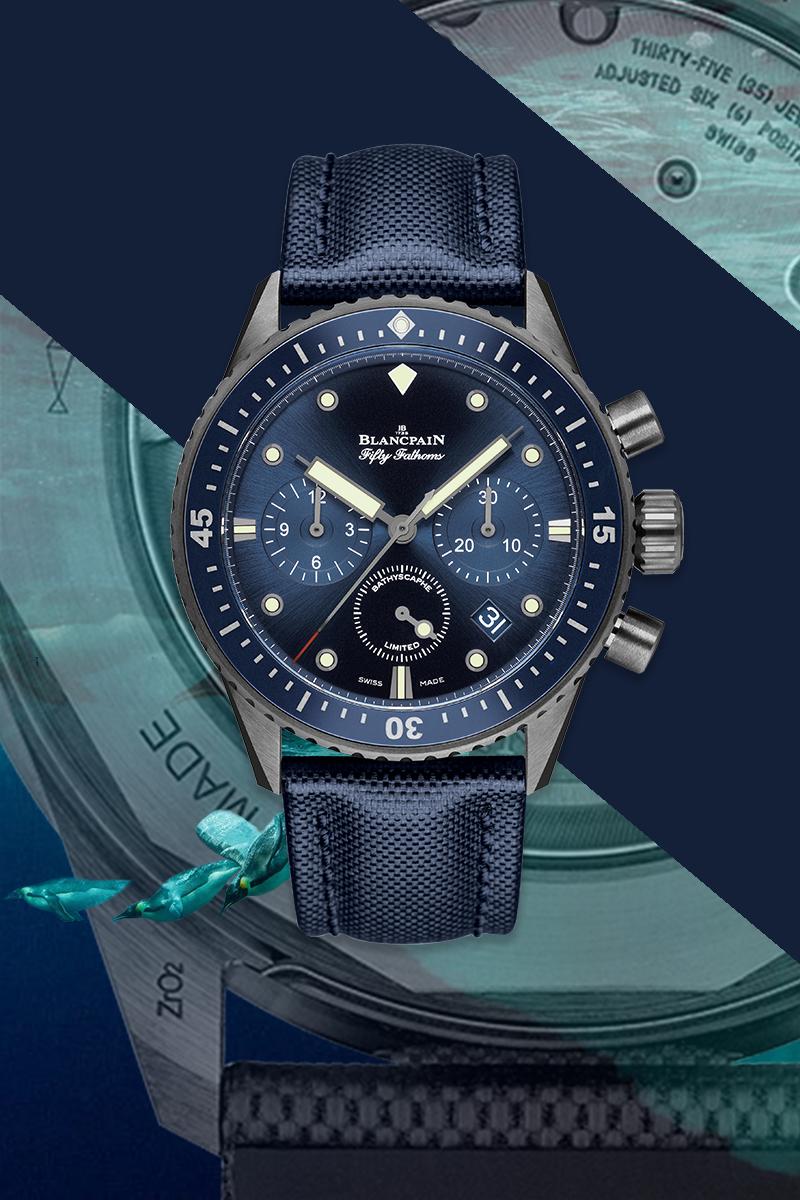 Часы Blancpain Ocean Commitment, 2015 г.