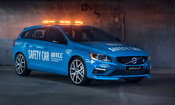 Volvo V60 Polestar превратили в пейс-кар
