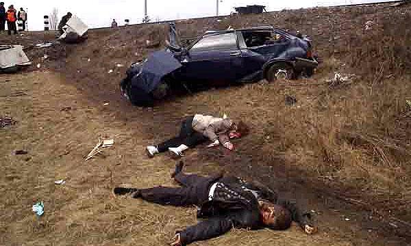9 человек погибли в двух ДТП на Украине