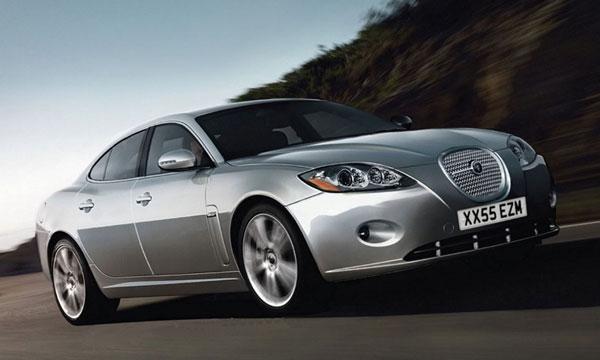 Новый Jaguar S-Type заснят на тестах