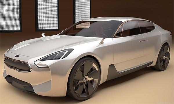 Концепт Kia GT получит серийную версию