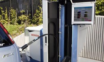 Водородную Honda FCX можно будет заправлять дома
