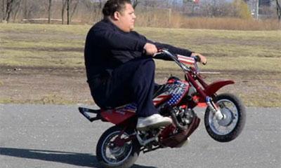 Мошенник угнал мотоцикл во время тест-драйва