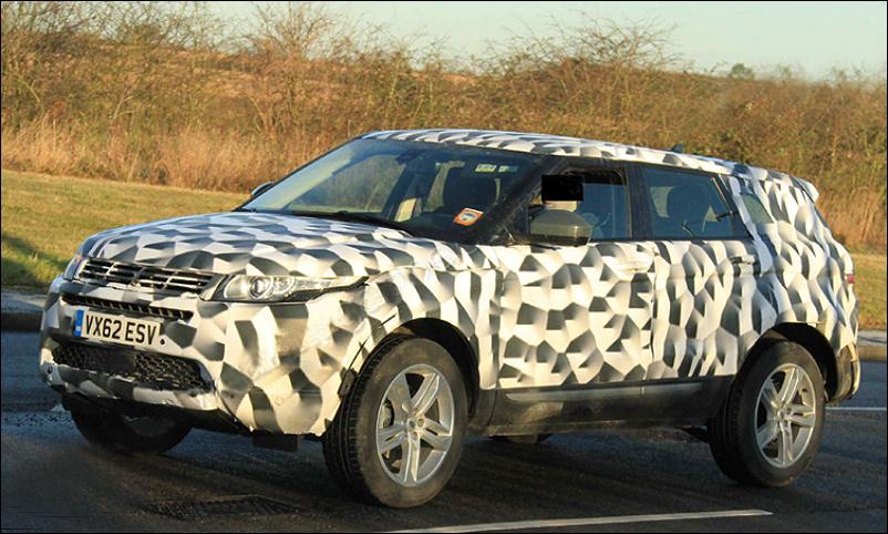 Range Rover Evoque увеличился в размерах
