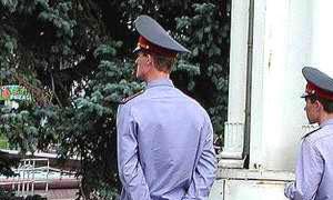 Уволен красноярский милиционер, сбивший дорожного рабочего