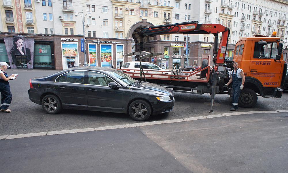 За эвакуацию на штрафстоянку москвичам грозит штраф 5 тыс. рублей