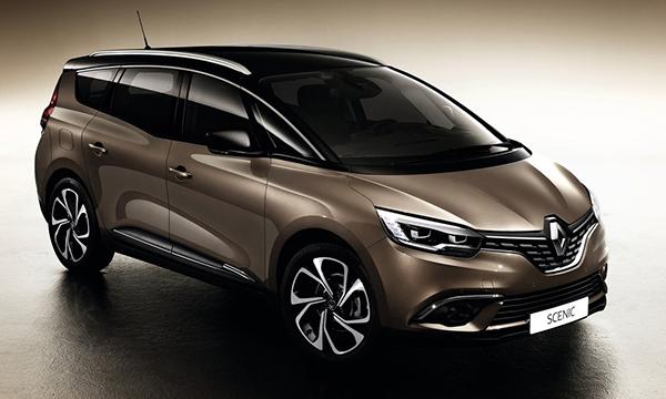 Renault представил семиместный Grand Scenic