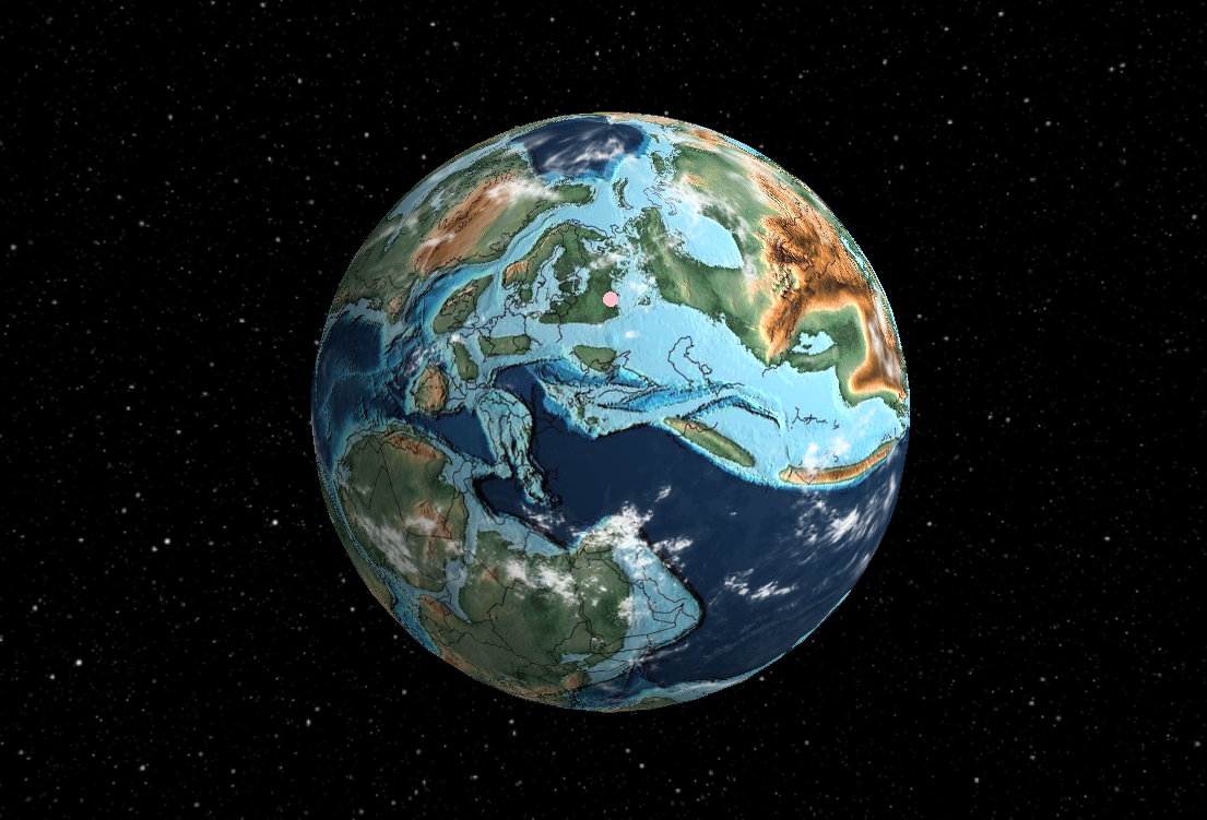 Москва 105 млн лет назад