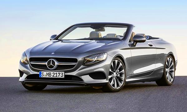 Mercedes представил четырехместный кабриолет S-Class