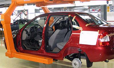 Производство автомобилей в РФ увеличилось на 6,5%