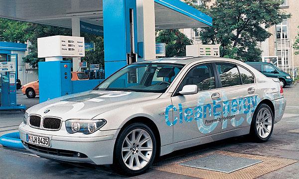 BMW выпустит первую партию водородных 7 Series