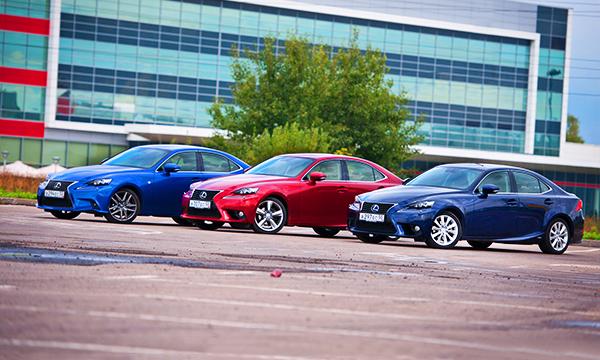 Последний из V-образных. Тест-драйв Lexus IS