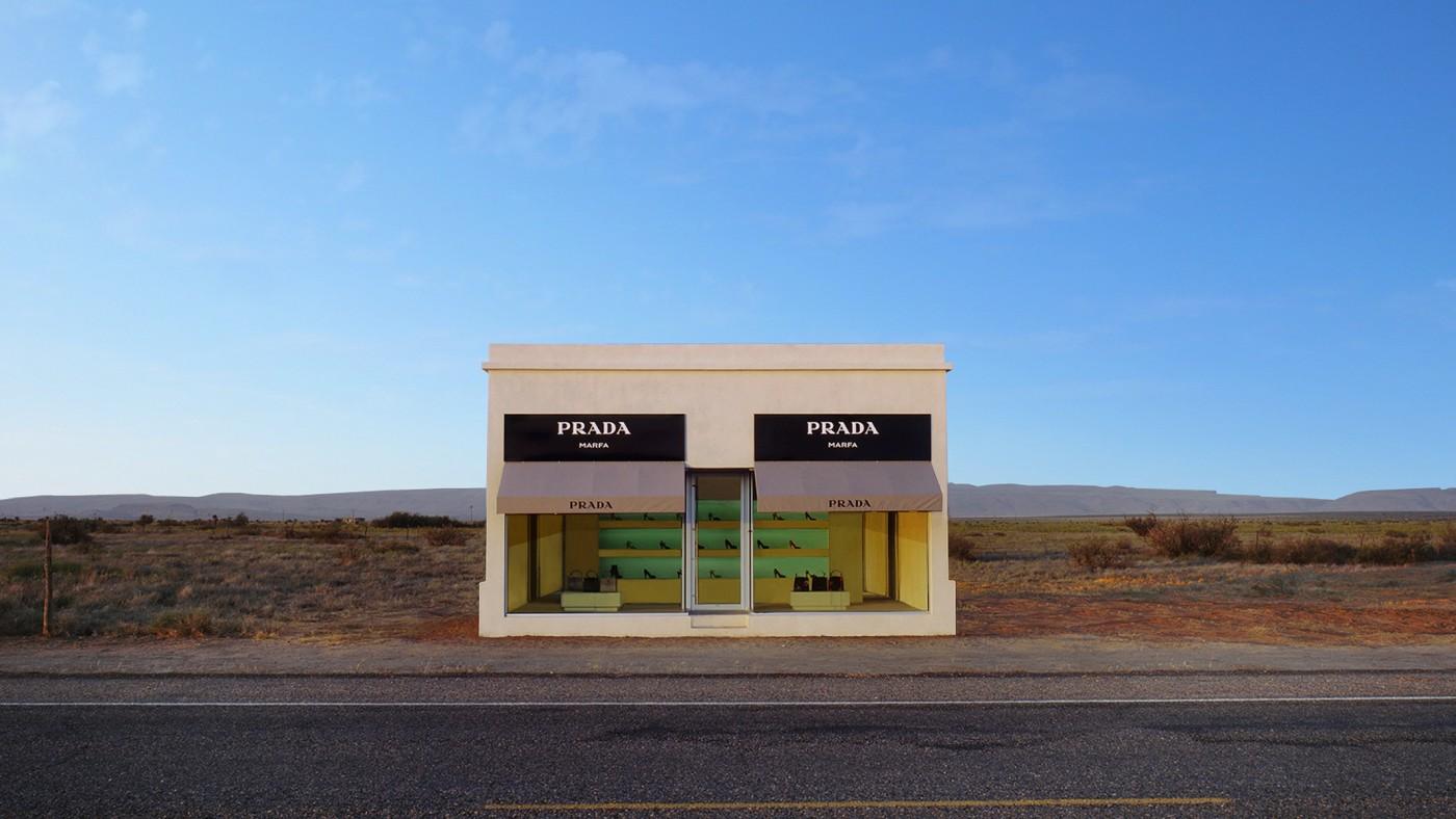 Бутик-инсталляция Marfa в Техасе, США