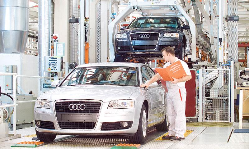 Мировые продажи Audi в сентябре выросли