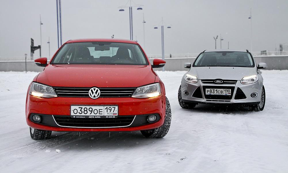 Ford Focus против Volkswagen Jetta