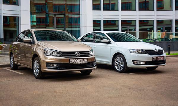 Лига плюща. VW Polo против Skoda Rapid