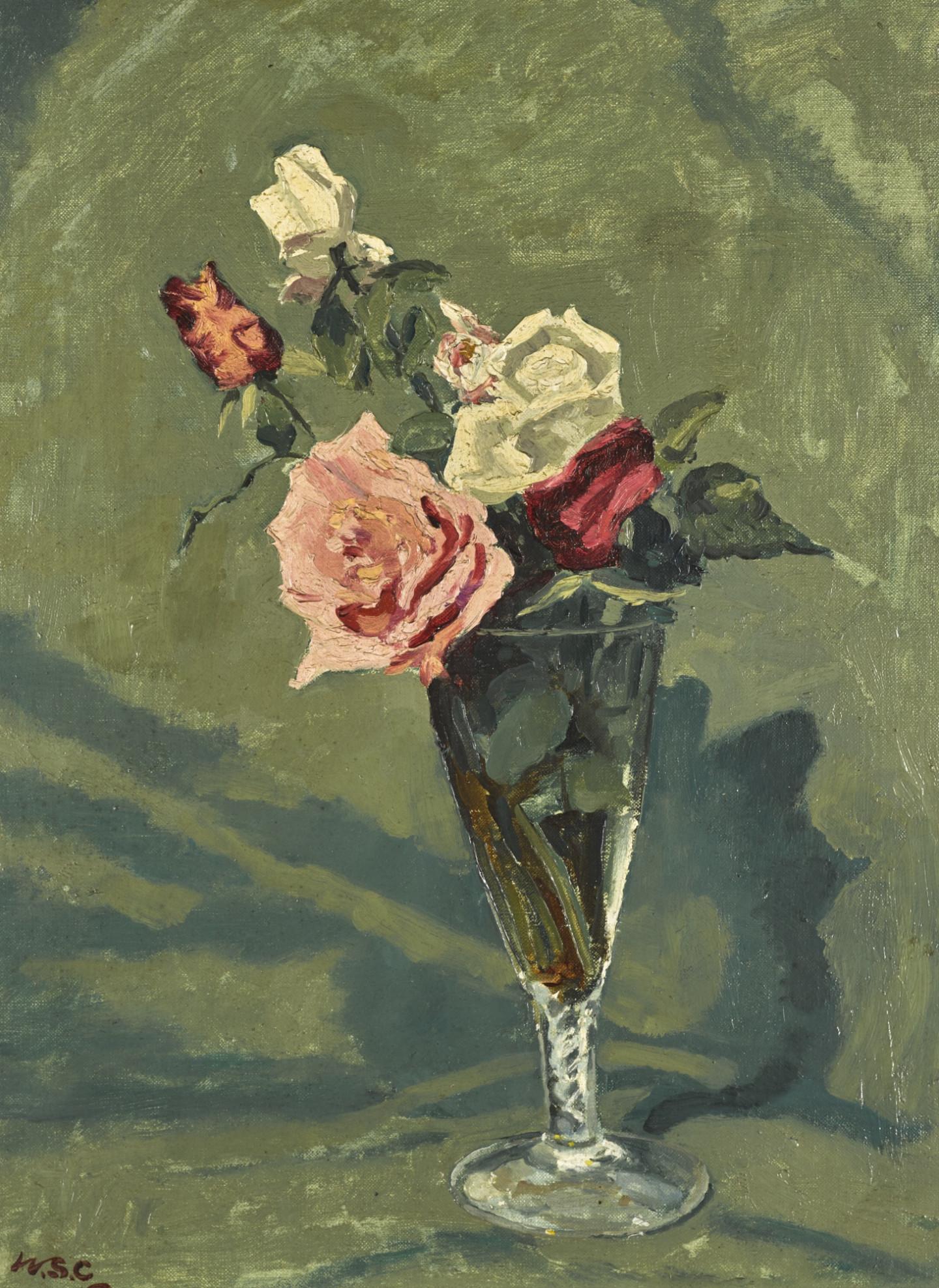 Уинстон Черчилль. «Розы в стеклянной вазе»