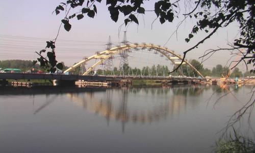 Сегодня в Петербурге открывается вантовый мост через Большую Охту