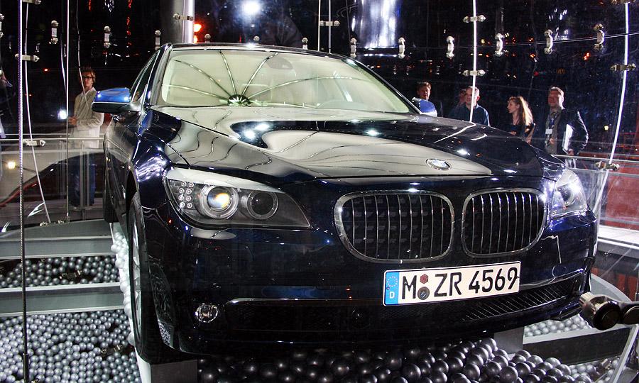 Новая  BMW 7-й серии выбрала Кремль для дебюта