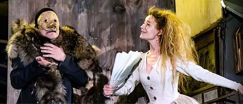Сцена из спектакля «Зобеида»