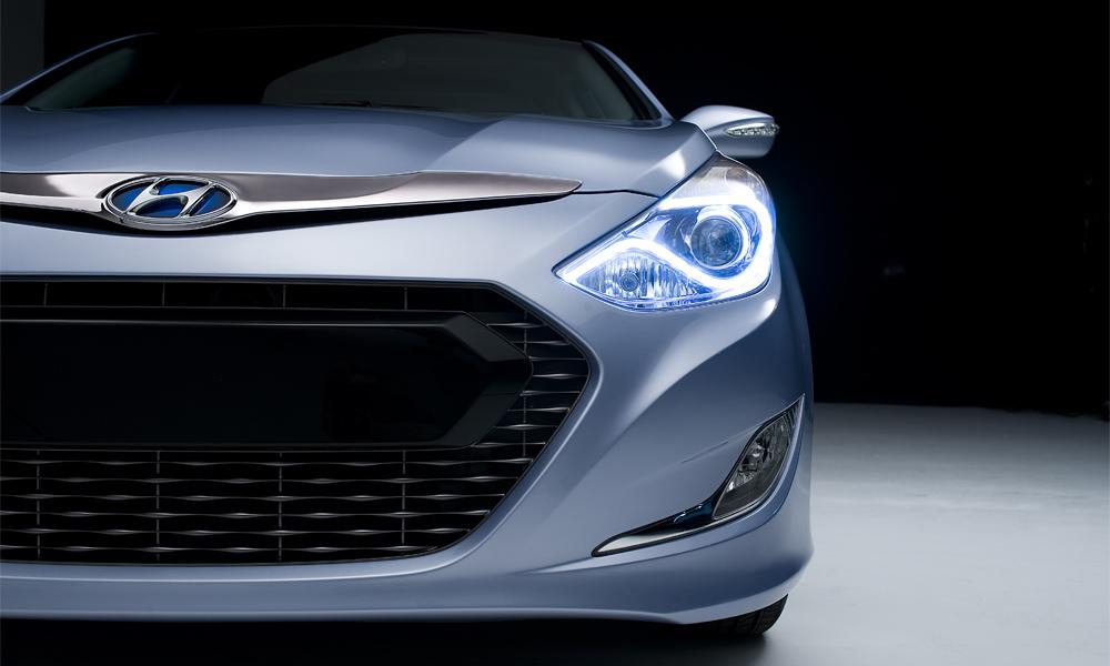 Hyundai покажет в Нью-Йорке гибридную Sonata 2011