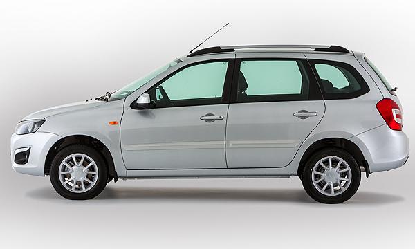Новая Lada Kalina в кузове универсал появится через месяц