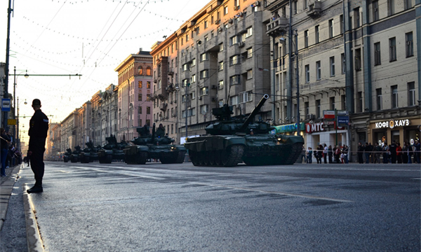 В Москве 5 мая будет перекрыто движение на ряде улиц