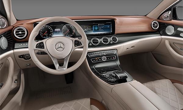 Mercedes рассекретил салон нового E-Class