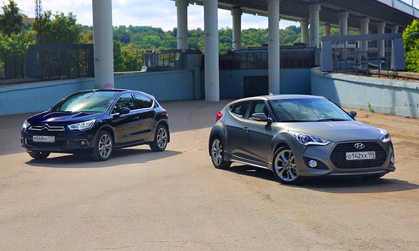 Модный приговор. Hyundai Veloster против DS4