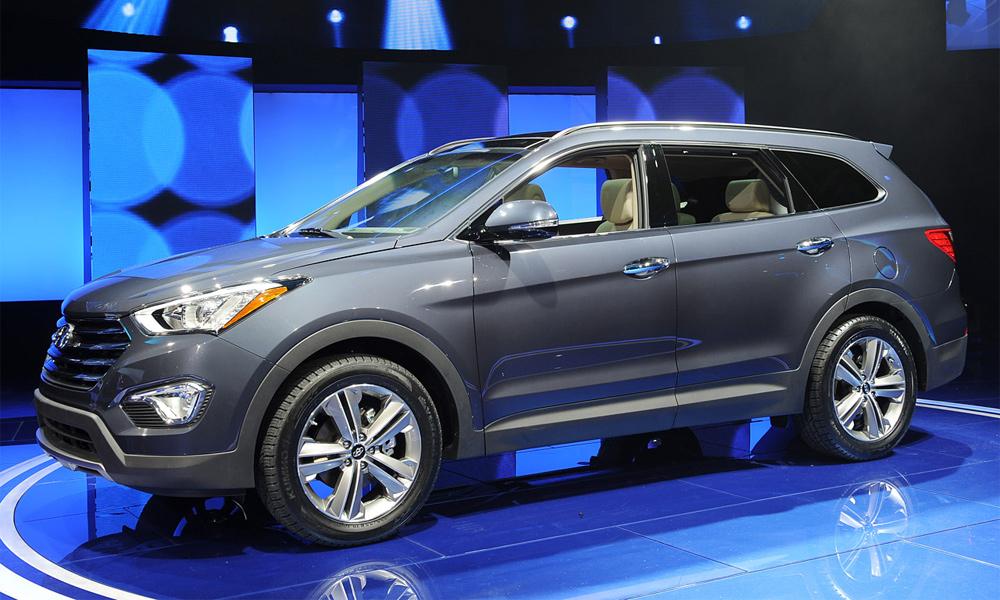 В Лос-Анджелесе показали семиместный Hyundai Santa Fe