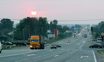 На машине из Москвы во Владивосток и обратно
