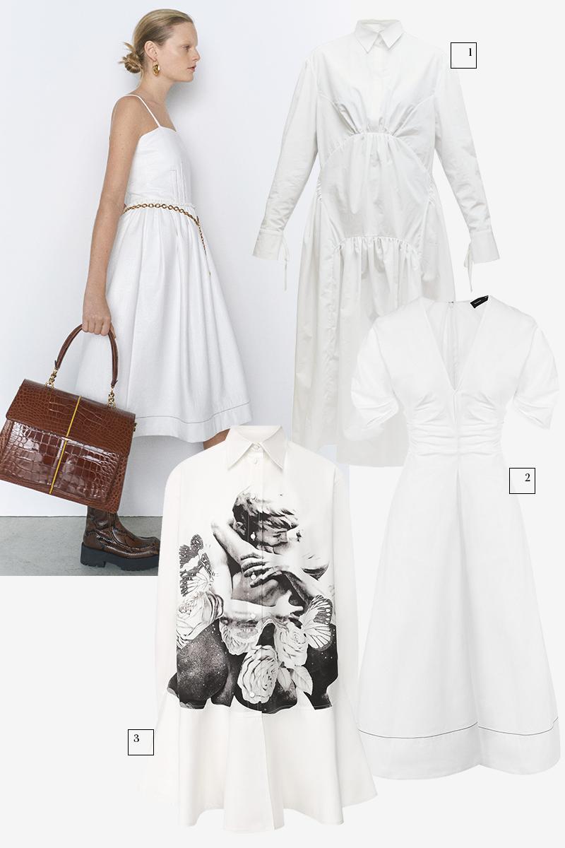 Marni  1) Cecilie Bahnsen (Matches Fashion), 63 255 руб. 2) Proenza Schouler (ЦУМ), 89 950 руб. 3) Valentino (Кутузовский проспект, 31), 118 500 руб.
