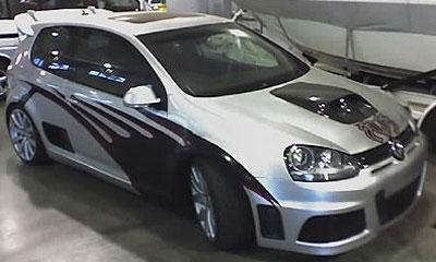 Серийный Volkswagen Golf R-37