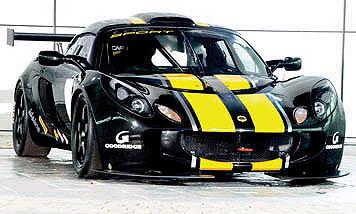 Lotus Exige GT3 готов к бою