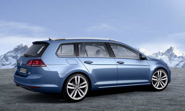 Volkswagen Golf Wagon появится к концу года