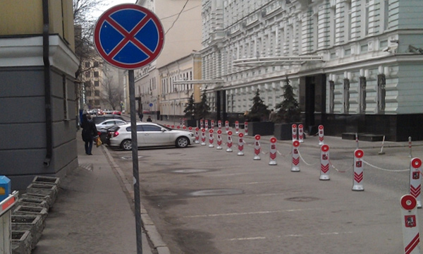 Ищем парковки в центре Москвы