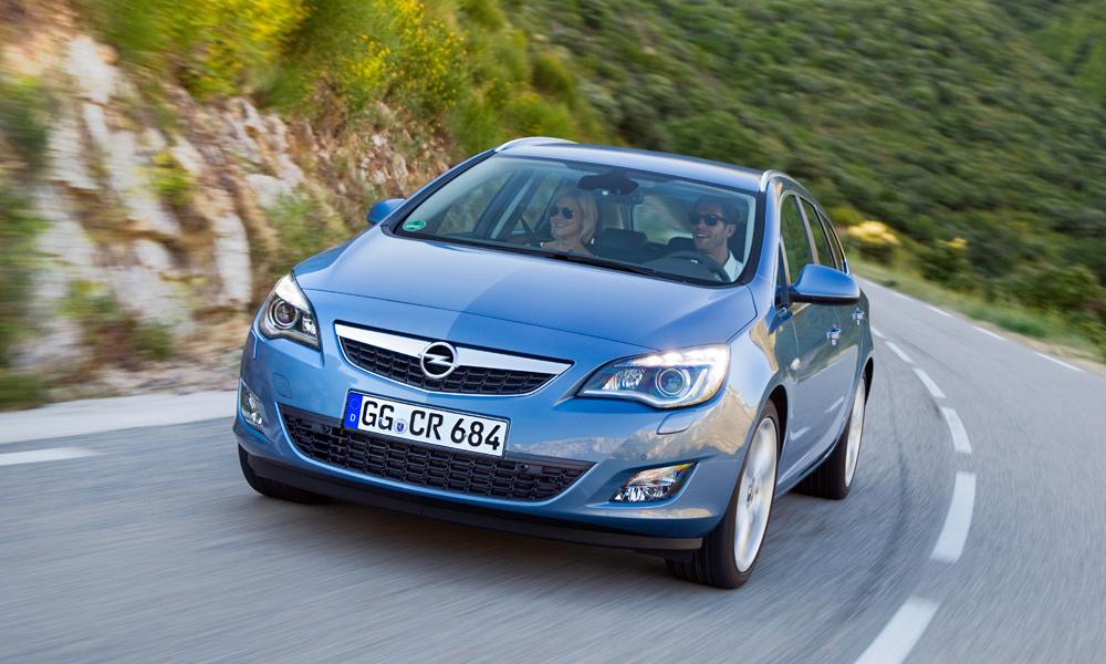 Рожденный универсалом. Тест-драйв Opel Astra Sports Tourer