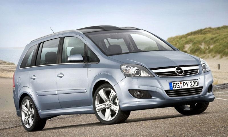 Обновленную Opel Zafira представят в Болонье